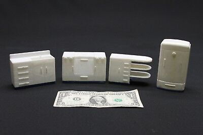 VINTAGE PLASTIC DOLL HOUSE FURNITURE AND PROPS (Lot #6)