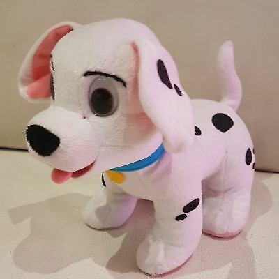 "Lucky Dalmation From 101 Dalmations Talking Moving 8"" Long Soft Toy Plush Disney"