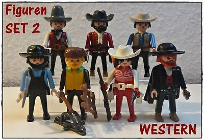 Playmobil Wilder Westen Figuren Sammlung Set 2
