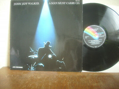 Jerry Jeff Walker - A Man Must Carry On MCA Records 0062.090