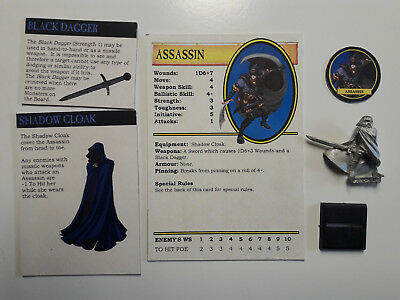 Warhammer Quest: Assassin - fanmade player character