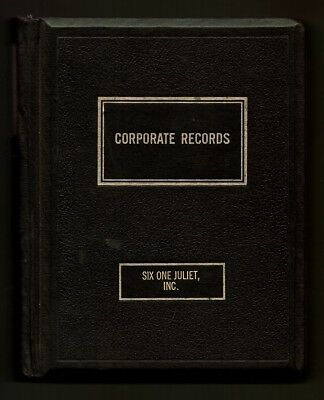 Corporate Records - Six One Juliet, Inc. (Aircraft)