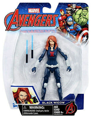 "BLACK WIDOW marvel avengers 5"" new sealed action figure"