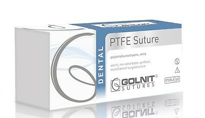 PTFE Suture 4/0 16 RC, sterile, FDA approved, 12pcs/box