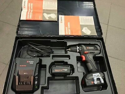 Genuine Wurth CORDLESS DRILL SCREWDRIVER BS-14 A LIGHT 14V 1.5AH LED (57004042)