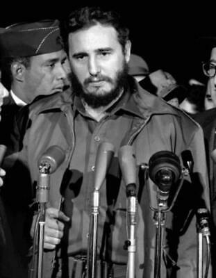 FIDEL CASTRO GLOSSY POSTER PICTURE PHOTO PRINT cuban dictator president old 3988