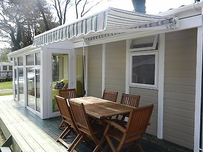 SOUTH BRITTANY FRANCE HOLIDAY CHALET MOBILE, Quinquis, 4th to 11th AUGUST 2018