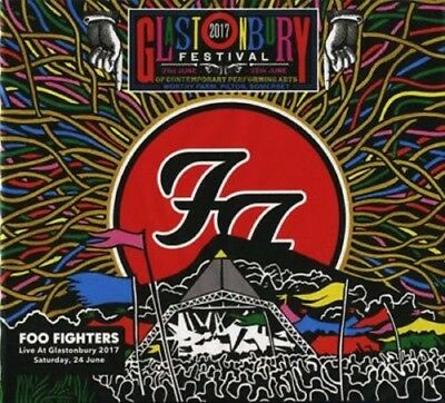 FOO FIGHTERS - LIVE AT GLASTONBURY 2017 2 CD SET New Sealed [FREE SHIPPING]