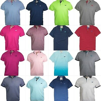 4c88535d Nwt Hollister By Abercrombie Mens Polo Shirt T Shirt Size XS S M L XL.  M_5ab6dfea2ab8c570a44a662c