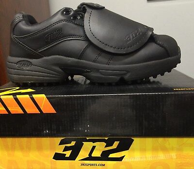 NEW 3N2 BLACK Performance Lo Umpire Plate Shoe Size 9 Med. Width ... 2b2903cf6
