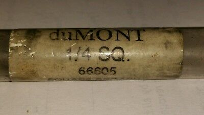 duMONT 1/4 Inch Square HHS Broach