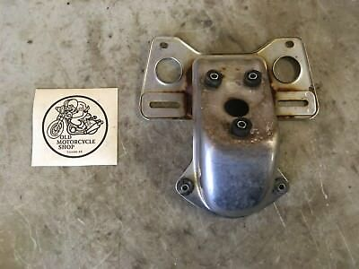1979 Honda Cb650 License Plate And Rear Tail Light Mount Bracket