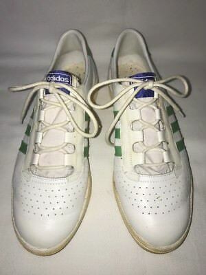 Rare 1970s Vintage Adidas Advantage Low Top Tennis Shoe Sneaker Size 7.5