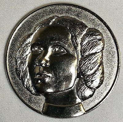 2005 California Lottery Star Wars Rare Lotto Coin Princess Leia Carrie Fisher