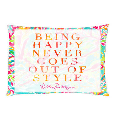 LILLY PULITZER QUOTES Two Side Pillow Case 60x60 With A Zippered Cool Lilly Pulitzer Quotes