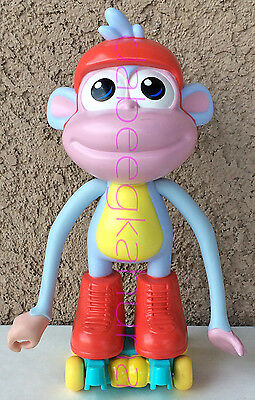 "Viacom - 2012 - Monkey On Skates - Plastic - Approx 7 1/2 "" Tall"