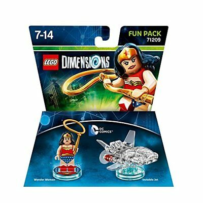 Toys-Lego Dimensions: Fun Pack - DC Wonder Woman /Video Game Toy  GAME NEW
