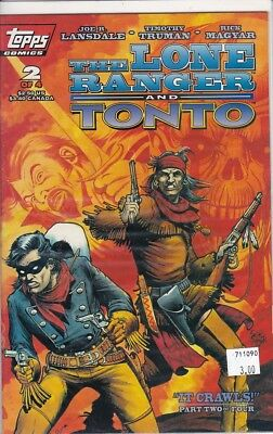 TOPPS Lone Ranger and Tonto (1994) #2- NM