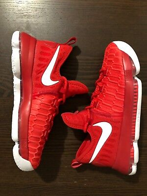918d3a13244 Nike ZOOM KD9 (GS) YOUTH BASKETTBALL SHOES 855908-611 University Red Kevin  Duran