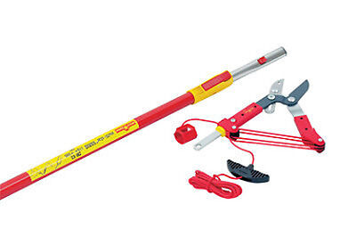 Wolf Garden RC-M / zm-v 3 Clippers + Handle Loppers Branch Saw Tree 4,50 M