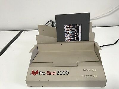 ProBind 2000,  Hard Cover And Soft Cover Thermal  Binding Machine