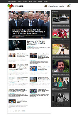 Established Fully Automated News Website for Sale