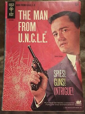 The Man From UNCLE 1 (First Print! Nice!)