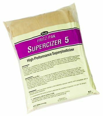 Fritz-Pak Concrete Superplasticizer, 1.2lbs. Cement Additive Improves Workabi...