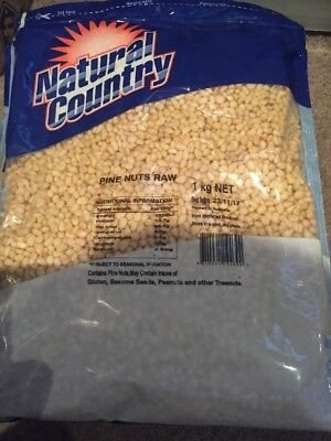 1kg Raw Pine Nuts (natural Country) Cooking Baking