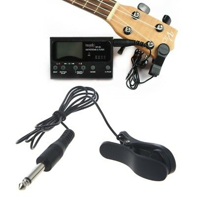 Professional Guitar Acoustic Clip On Pickup Piezo Contact Microphone Universal