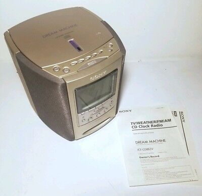 sony dream machine cd alarm clock 22 00 picclick rh picclick com