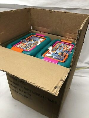 Lot Of 6 120 Pcs Medieval Times Kids Toys Dragon Knight Fantasy Soldier Marx New