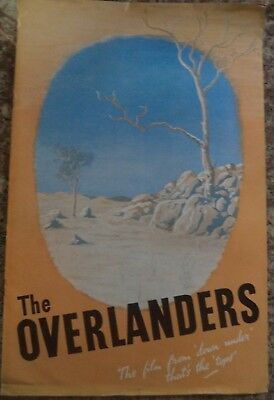 """""""The Overlanders"""" 1946 Rare Large Vintage Ealing Studios Campaign Book 12 Pages"""