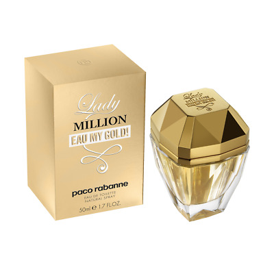 Lady Million Eau My Gold! von Paco Rabanne Eau de Toilette Sprays 50ml