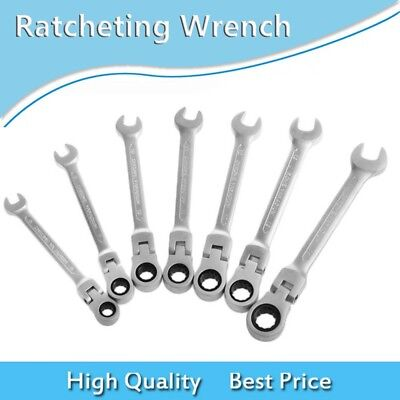 6-14mm Handle Hand Tools Kit Ratcheting Wrench Torque Combination Spanner