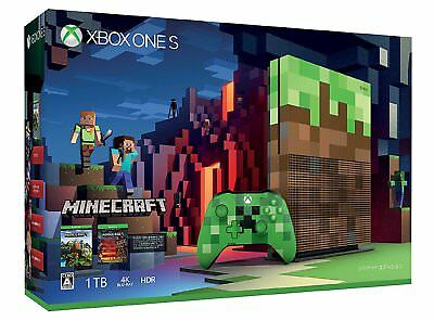 Xbox One S 1TB Minecraft Limited Edition 23C - 00017 Video game Creeper by EMS