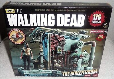 Mcfarlane Toys The Walking Dead Building Set - The Boiler Room 176 Teile Neu/Ovp