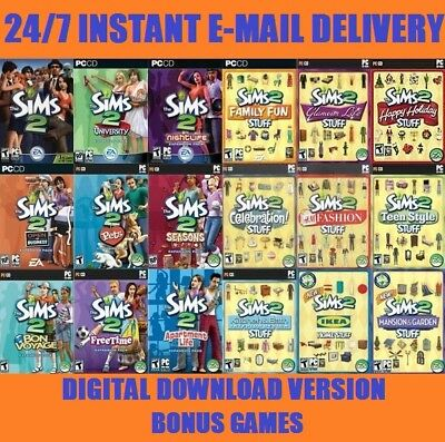 The Sims 2 Full Collection 18in1 | Digital Download Account | Multilanguage
