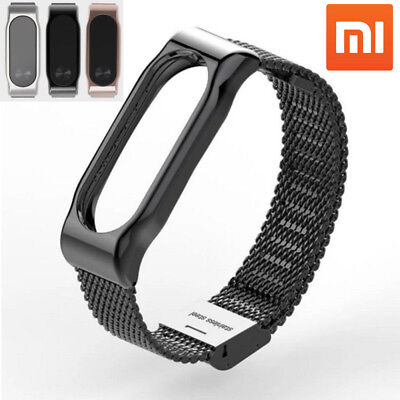 For Xiaomi Mi Band 2 OEM Bracelet Stainles Steel Watch Band Strap Wrist New Lot