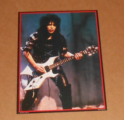Motley Crue Shout at the Devil 1984 Original Promo 16.5x12 Mick Mars