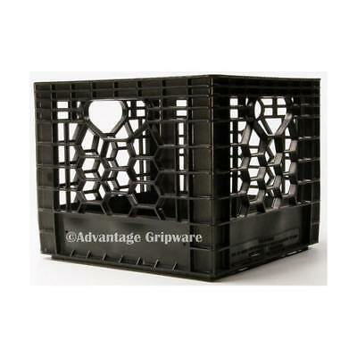 New Advantage Gripware Milk Crate - Small (4 Gallon / 16 Quart) 13X13X11""