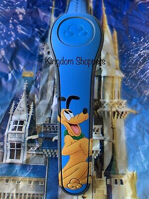 Disney PLUTO AUTOGRAPH BLUE Magic Band 2 2.0 Magicband Link It Later NEW