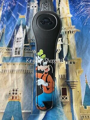 Disney GOOFY AUTOGRAPH BLACK Magic Band 2 2.0 Magicband Link It Later Parks NEW