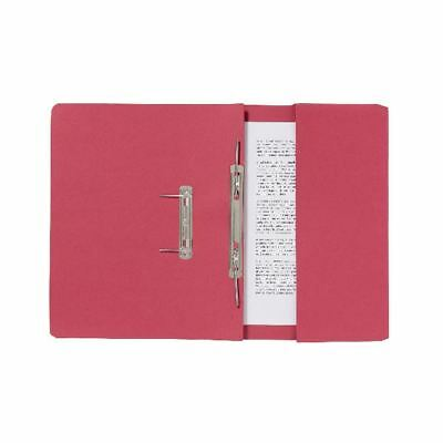 Guildhall Red Pocket Spiral File (Pack of 25) 347-REDZ, 216x343mm [GH14209]