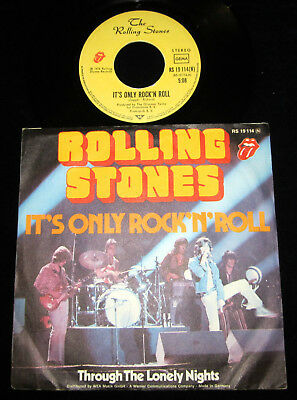 """7"""" - Rolling Stones - It´s Only Rock `n´roll !! Rs Ger 1974"""