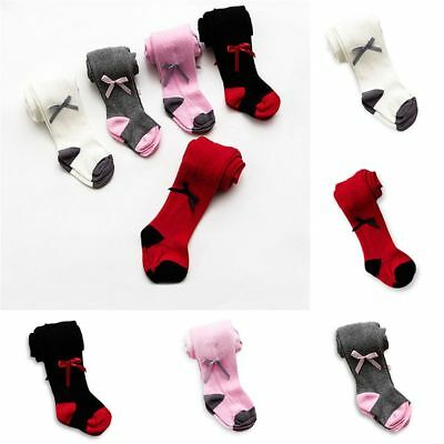 Under Garment Kids Stockings Baby Bow Tight Pants Girls Pantyhose Warm Socks