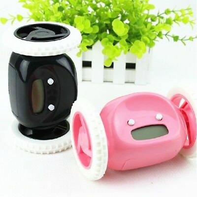 Creative Running Clocky Runaway Alarm Clock with Moving Wheels Fun Xmas Novelty