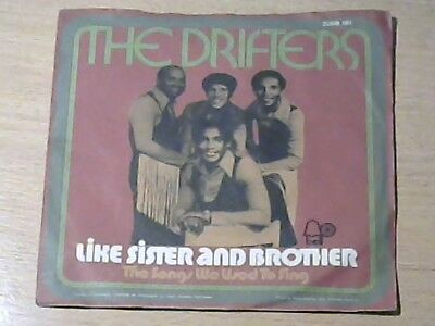 """7"""" THE DRIFTERS * Like Sister And Brother (SOUL)"""