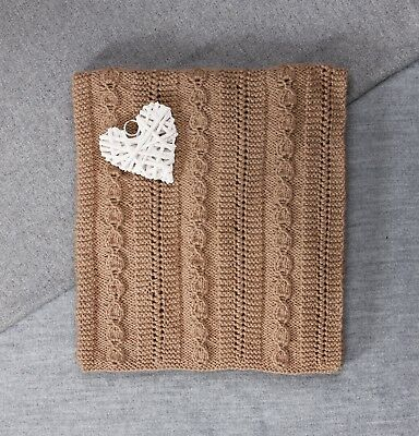 Twilleys - Knitting Kit - Baby Blanket - Brown - 2898/4028