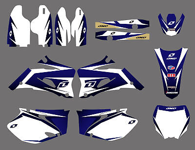 Team Graphics Decal For Yamaha YZ250F YZ450F YZ 250F 450F 2006 2007 2008 2009